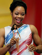 U.S. Olympic Champion Gabby Douglas gets her very own Barbie Doll!