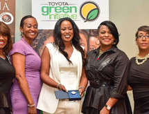 Café Mocha Salute Her: Beauty of Diversity Tour presents Inaugural Toyota Green Award