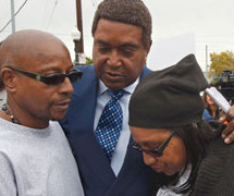 Family of Black man shot 14 times by Sacramento police officers demands charges be brought
