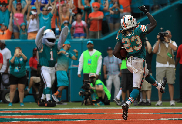 new concept 8b858 dd2b8 Jay Ajayi Ran the Miami Dolphins to Another Win - The ...