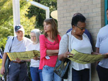 North Carolina voters flood polls after voting battle