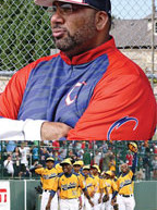 Former pro baseball player Omar Washington training Black youth for the big leagues