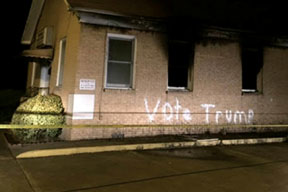 racists-burned-and-vandali
