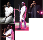 Boyz II Men and  Al B Sure at the Pompano Amphitheater