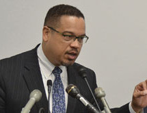 Rep. Keith Ellison throws Min. Louis Farrakhan under the bus for the DNC