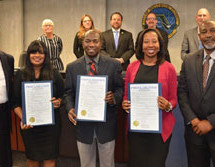 The local AT&T Pioneers have been honored with a Black History Month proclamation from the City of Hollywood