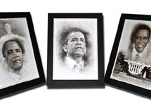 Bill Dotson creates Obama Commemorative Collection