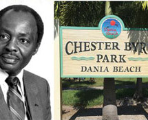 Dania Beach honors first Black Mayor