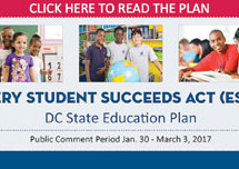 D.C. stakeholders comment on Every Student Succeeds Act