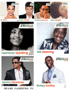 Twelfth annual jazz in the gardens music festival announces 2017 lineup with jill scott ll cool for Jazz in the gardens 2017 dates