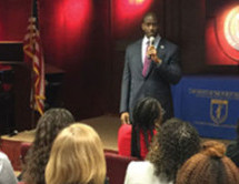 Andrew Gillum visits Broward's Public Defender Office