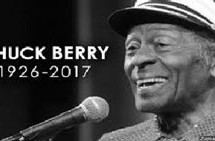 Chuck Berry, a Founding Father of Rock 'n' Roll, dies at 90