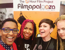 Florida's Female-led film crew accepts award & screens feature at Filmapalooza in Seattle