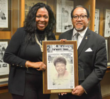 NNPA honors legendary Houston Forward Times publisher Lenora 'Doll' Carter Carter enshrined in the NNPA gallery of distinguished newspaper publishers