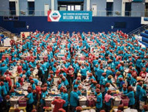 Miami Dolphins, AARP Foundation host Fourth Annual Million meal pack