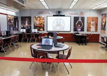 New computer lab unveiled at Horace Mann Middle School