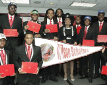 Sixty-two high school graduates receive scholarships to the colleges of their choice at the 5000 Role Models of Excellence Project Academic Signing Day""