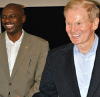 Senator Bill Nelson joins DBCF President Henry Crespo at president's kickoff reception