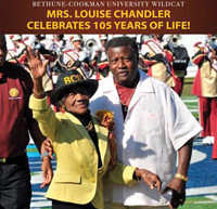 B-CU Alumna, Mrs. Louise Chandler celebrates 105 years of life