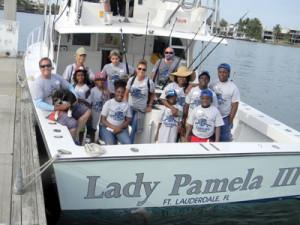 Ready to hit the seas aboard Lady Pamela, captained by John Keenan.