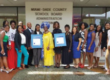Dr. Dorothy Bendross-Mindingall honors M-DCPS assistant principal