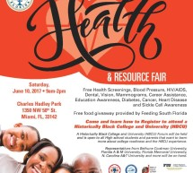 Metropolitan Dade County Section of NCNW Health Fair