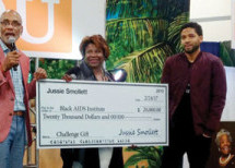 Jussie Smollett puts his money where his activism is; raises $40,000 to fight HIV/AIDS in Black communities