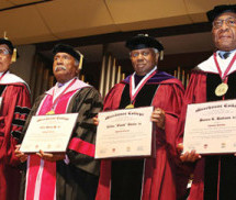 Morehouse honors four living Board Chairs, naming them Chairmen Emeriti
