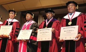 MOREHOUSE-HONORS-FOUR