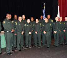 The Broward Sheriff's Office recognized the graduates of the Police Academy's Cadet Class 308 at BSO's Swearing-In