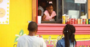Kyleigh McGee, a 7-year old African American girl from Little Rock, Arkansas is running and operating her very own food truck.