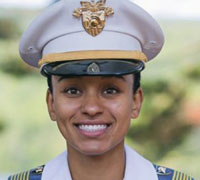 Cadet Simone Askew, of Fairfax, Virginia, became the first African American woman to lead West Point's Corps of Cadets, the U.S. Army announced. (Photo: U.S. Army)