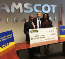 Amscot Financial presents $100,000 gift to Urban Leagues in the State of Florida