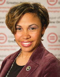 McConduit, the president and CEO of the Urban League of Louisiana expressed concerns about ESSA state plans that she reviewed with a group of education policy experts. (Urban League of Louisiana)