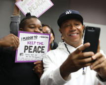 "Russell Simmons inspires youth with ""Keep The Peace"" program"