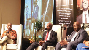 Sirius XM Host Joe Madison, Actor Danny Glover and Dr. Ron Copeland, Kaiser Permanente.