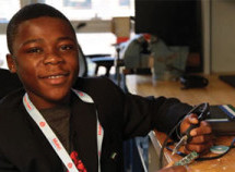 At age 11, he built his own radio station — but now, he's the CEO of his own tech company