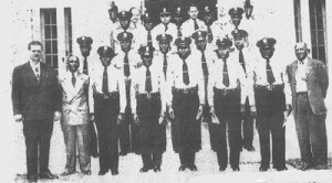 During the Jim Crow era, Black officers in Miami were forced to patrol with no real headquarters until the Black Police Precinct was designed in 1950.  (Photo courtesy of HistoricalBlackPrecinct.org.)