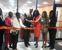 Boyd H. Anderson High School unveils newly renovated $2 million media center with ribbon cutting ceremony