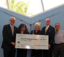 Rep. Deutch, Pompano Mayor Fisher  accepts  $100,000 NEA Grant