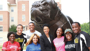 Dr. Aminta Hawkins Breaux is the first female president of Bowie State University. (Bowie State University)