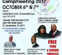 florida state evangelism campmeeting 2017