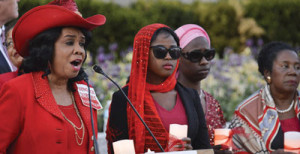 Rep. Frederica Wilson (D-Fla.) says that a lack of education has been a key factor in Boko Haram's ongoing ability to successfully recruit young men and boys. Rep. Frederica Wilson (D-Fla.) (L) speaks during a candlelight vigil for the missing Chibok school girls in front of the State Department in Washington, D.C. on April 20, 2016. (Freddie Allen/AMG/NNPA News Wire)