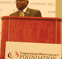 Congressman speaks of persistence and perseverance at Congressional Black Caucus