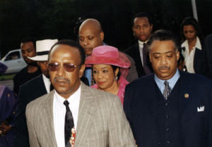 Gantt, Rep. Wilson, Rev. Al Sharpton and some members of Black Caucus.