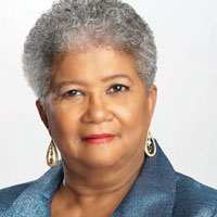 NNPA Chairman Dorothy Leavell says that when White males are accused of domestic terrorism, suddenly gun control is a forbidden subject. (Official Photo)