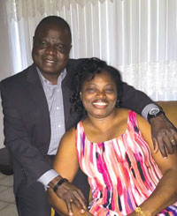 Rev. Simon Osunlana and wife Temitope