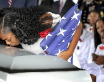 Widow of Sgt. La David Johnson says she wasn't allowed to see husband's body, confirms Trump forgot his name during call