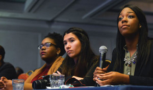 High school students listen during a forum on the Every Student Succeeds Act during the NNPA's 2017 Mid-Winter Conference in Fort Lauderdale, Fla. (Freddie Allen/AMG/NNPA)