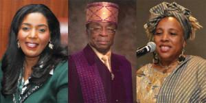 "Mayor Barbara Sharief, Major Dr. Henry ""Hank"" Mack and Dr. Evelyn Bethune."